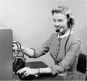vintage operator
