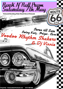 50s Prom Flyer