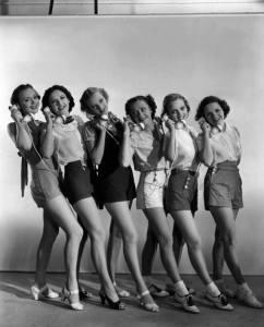 1940s telephone operators
