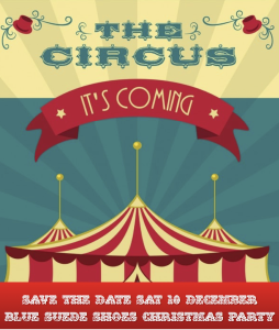 Circus Save the Date