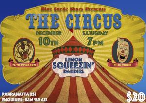 Xmas Poster Circus