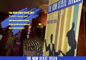NSW STATE TITLES COMING SOON
