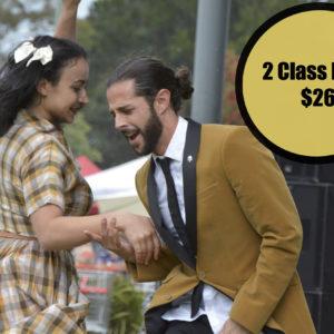 2 Class Pass $26