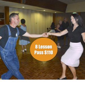 8 Lesson Pass