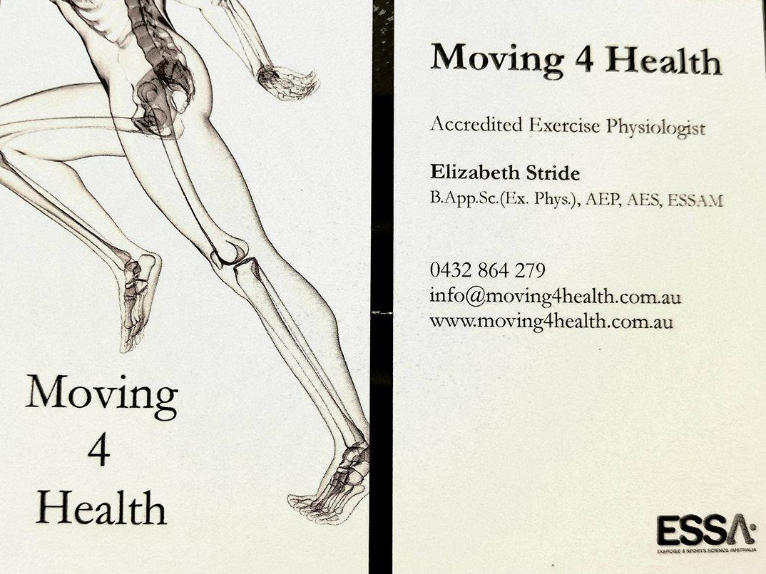 Liz Stride : Accredited Exercise Physiologist
